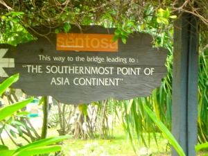 Sentosa Southernmost point of Asia